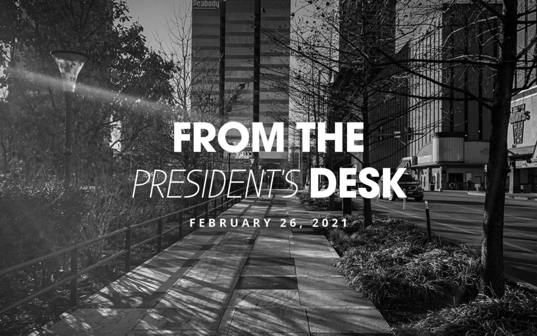 From the Presidents Desk